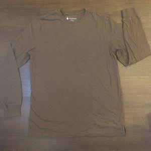 NWOT Lanesboro Brown Long sleeve Shirt - M